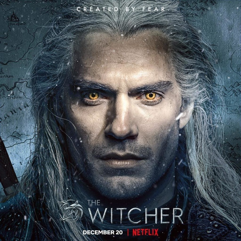 The Witcher Netflix Promoposter