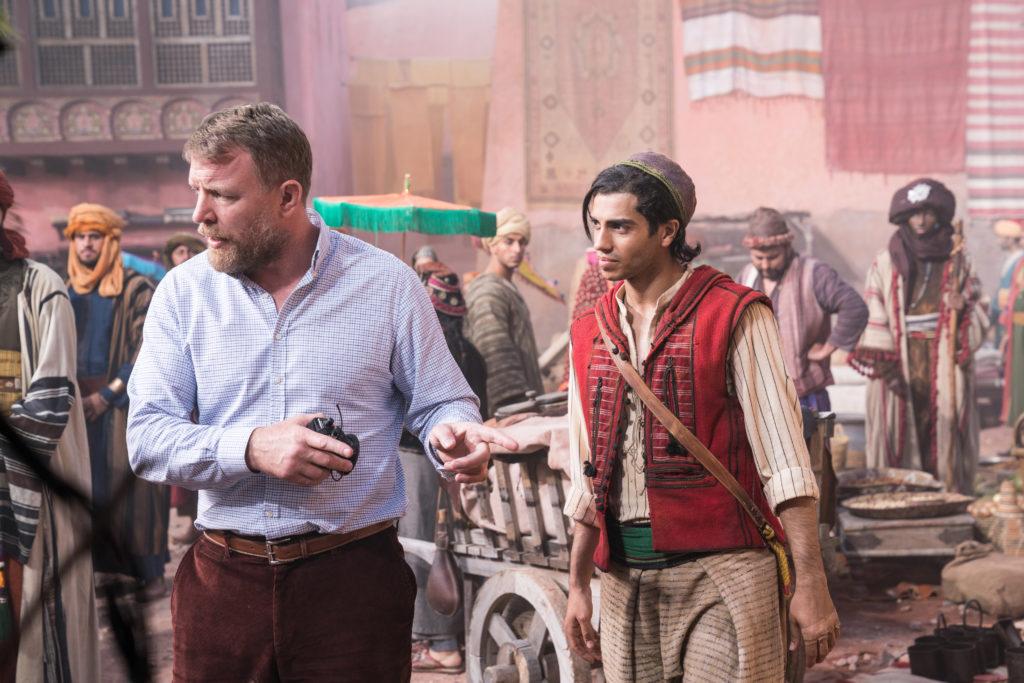 Guy Ritchie am Set von Aladdin 2019