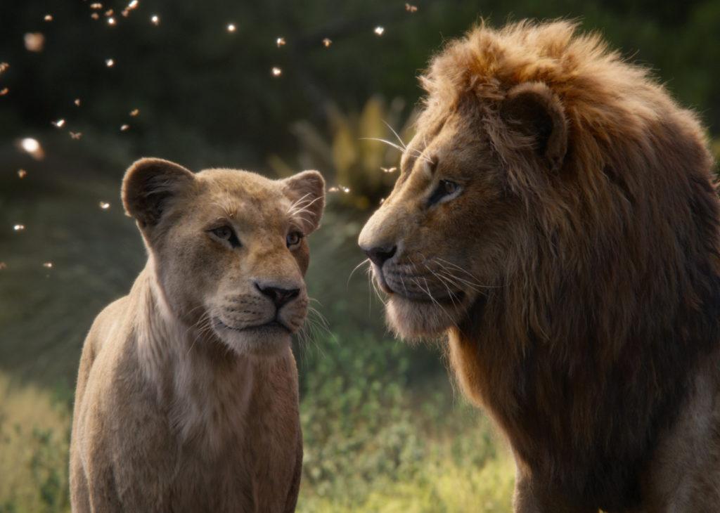 Nala und Simba aus Der König der Löwen