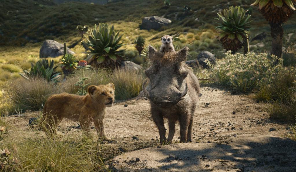 Timon und Pumbaa aus Der König der Löwen