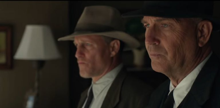 Harrelson und Costner in The Highwaymen