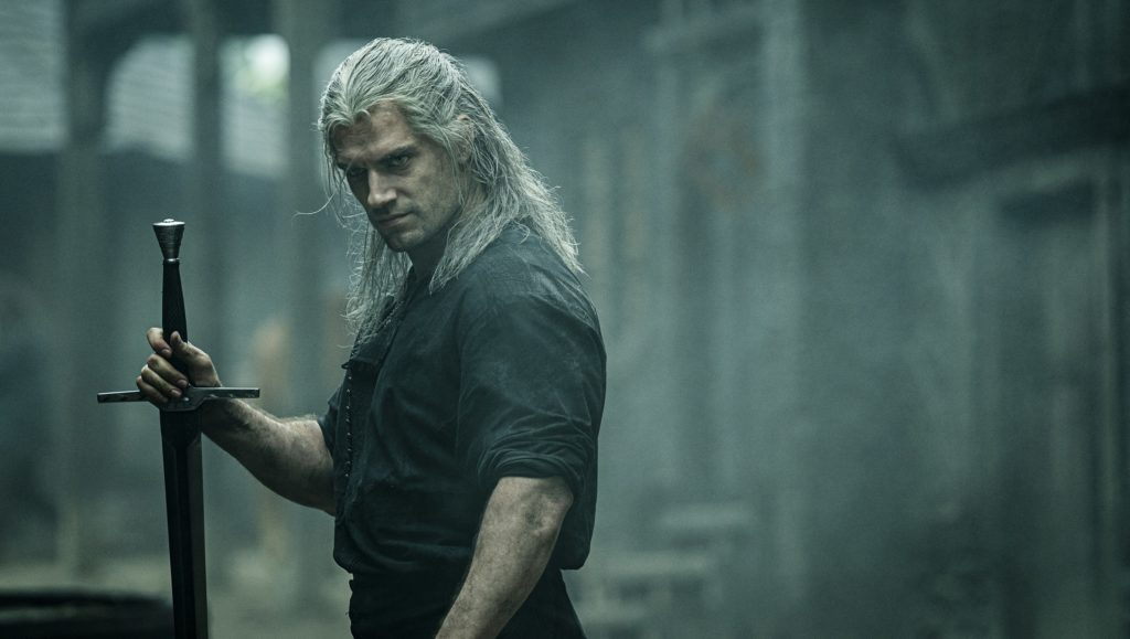 Henry Cavil aus The Witcher