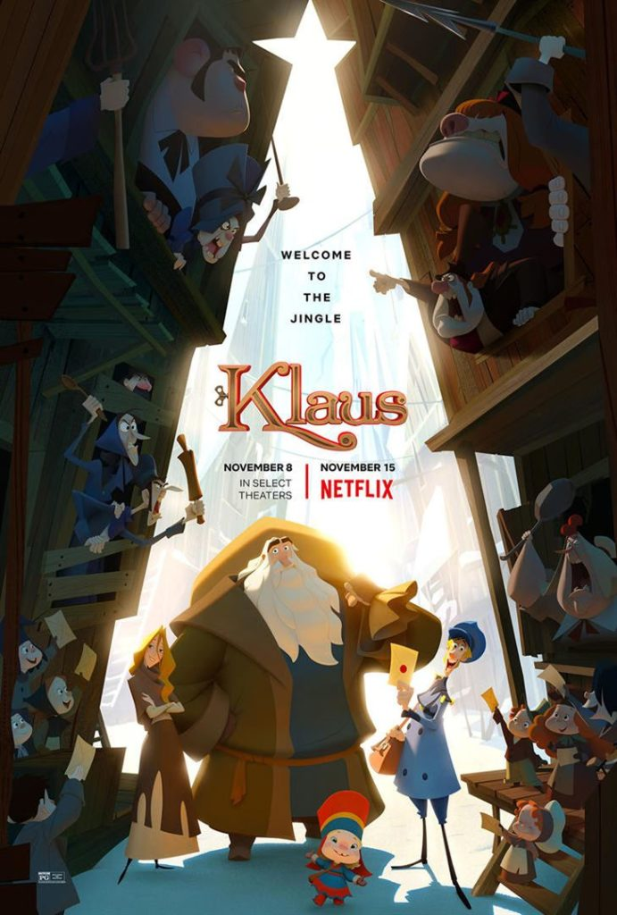 Das offizielle Poster von Klaus