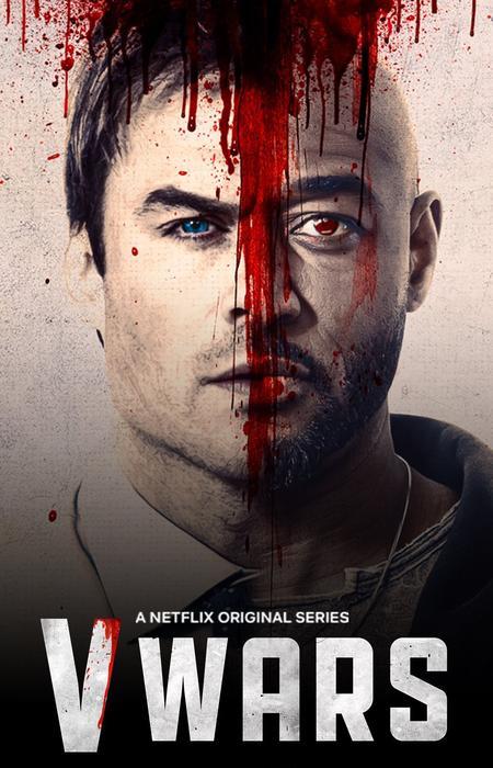 Netflix V Wars offizielles Poster