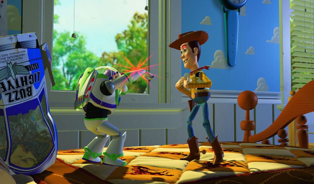 Toy Story Animationsfilm 1995 Filmklassiker