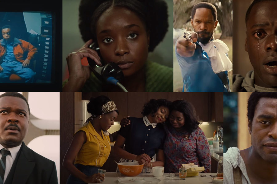 Chiwetel Ejiofor, Oactavia Spencer und Jamie Foxx in Rassismusfilme