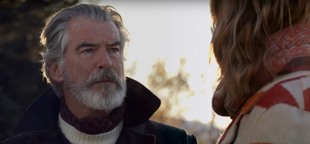 Pierce Brosnan in The Story of Fire Saga