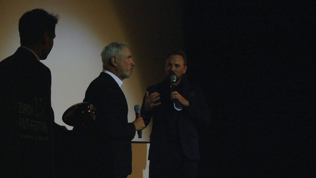 Steven Gätjen interviewt Roland Emmerich am ZFF 2019
