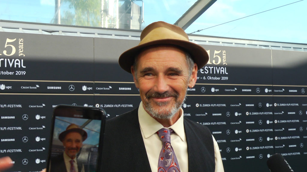 Mark Rylance am ZFF 2019