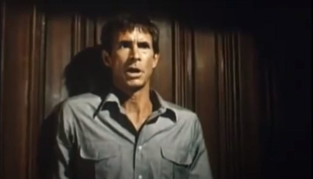 Anthony Perkins aus Psycho 2