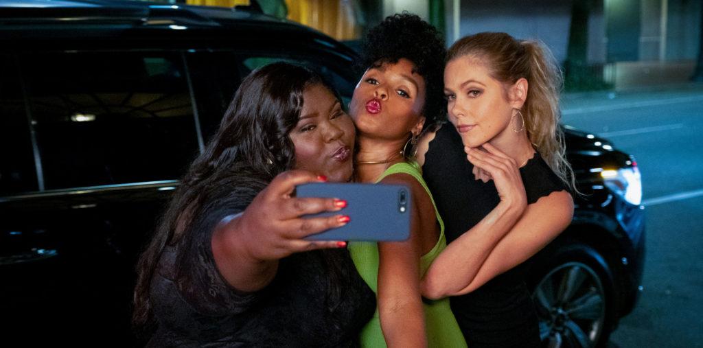Gabourey Sidibe als Dawn, Janelle Monáe als Veronica und Lily Cowles als Sarah in Antebellum