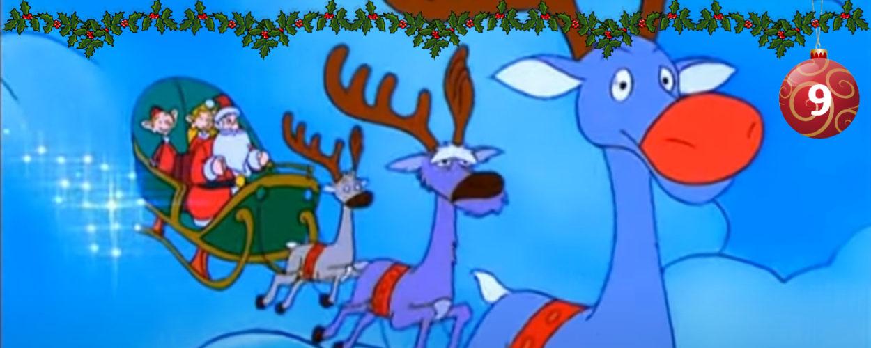 Weihnachtsmann und Co. KG mit dem Schlitten unterwegs