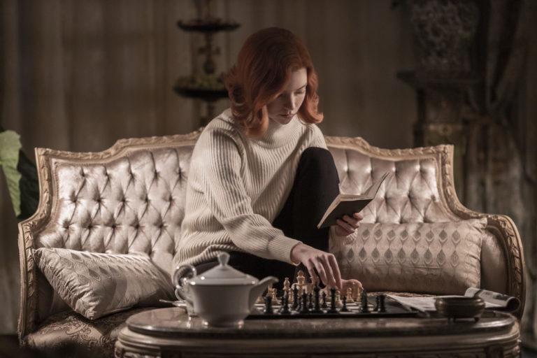 Anya Taylor-Joy als Beth Harmon