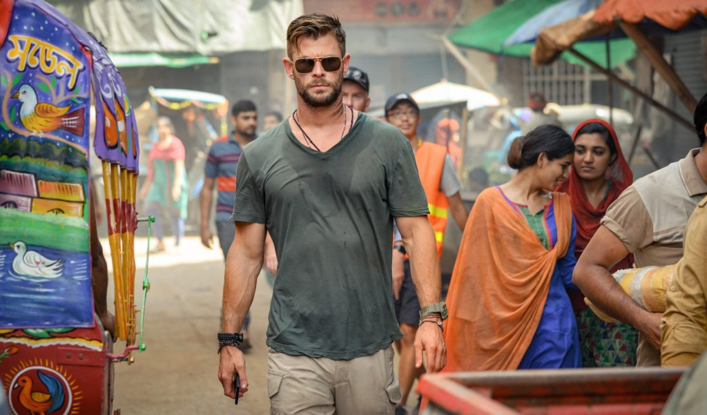 Chris Hemsworth in Extraction Top 10 Netflix-Filme und -Serien