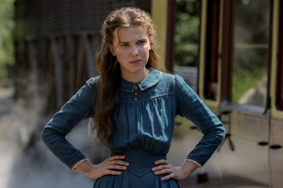 Milly Bobby Brown in Enola Holmes