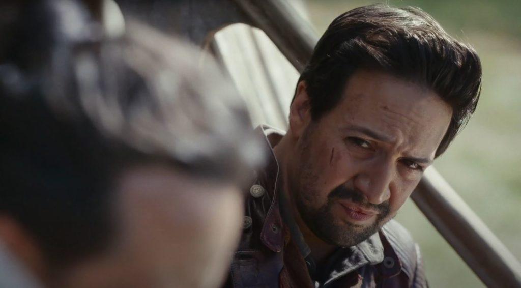 Lin-Manuel Miranda als Lee Scoresby in His Dark Materials