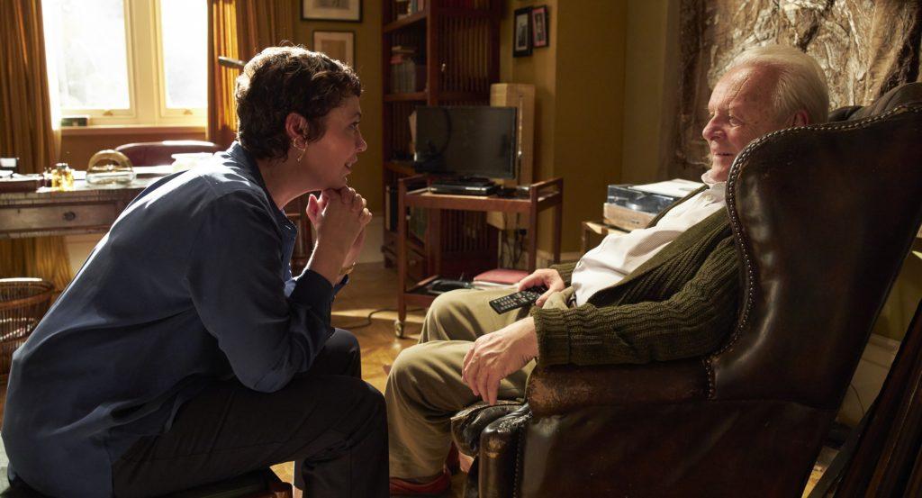 Olivia Colman und Anthony Hopkins aus The Father