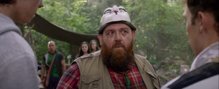 Nick Frost in Slaughterhouse Rulez