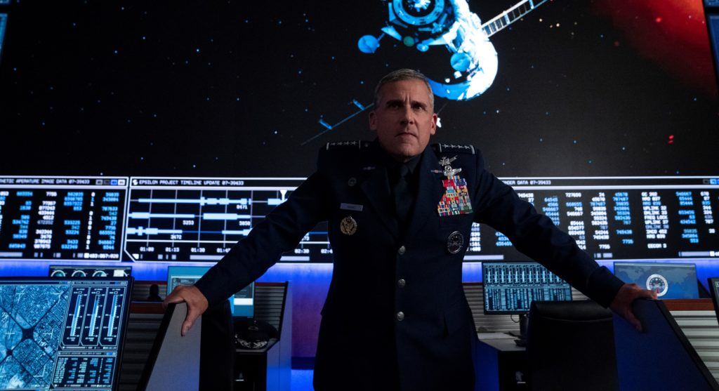 Space Force Top 10 der Netflix-Filme und -Serien