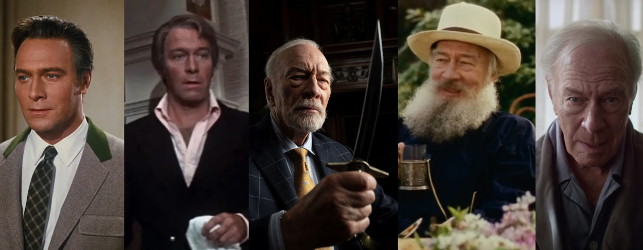 Christopher Plummer aus Knives Out Beginners und Pink Panther