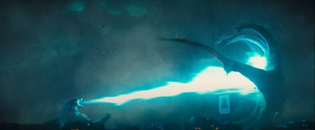 Godzilla und Ghidorah in Godzilla 2: King of the Monsters