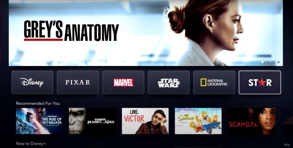 Disney+ neu mit der Marke Star
