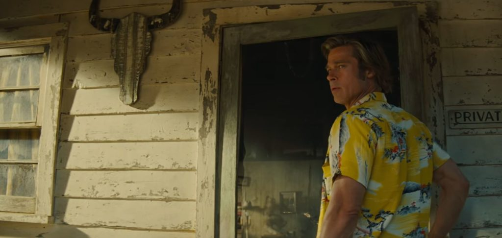 Brad Pitt aus Once Upon a Time in Hollywood