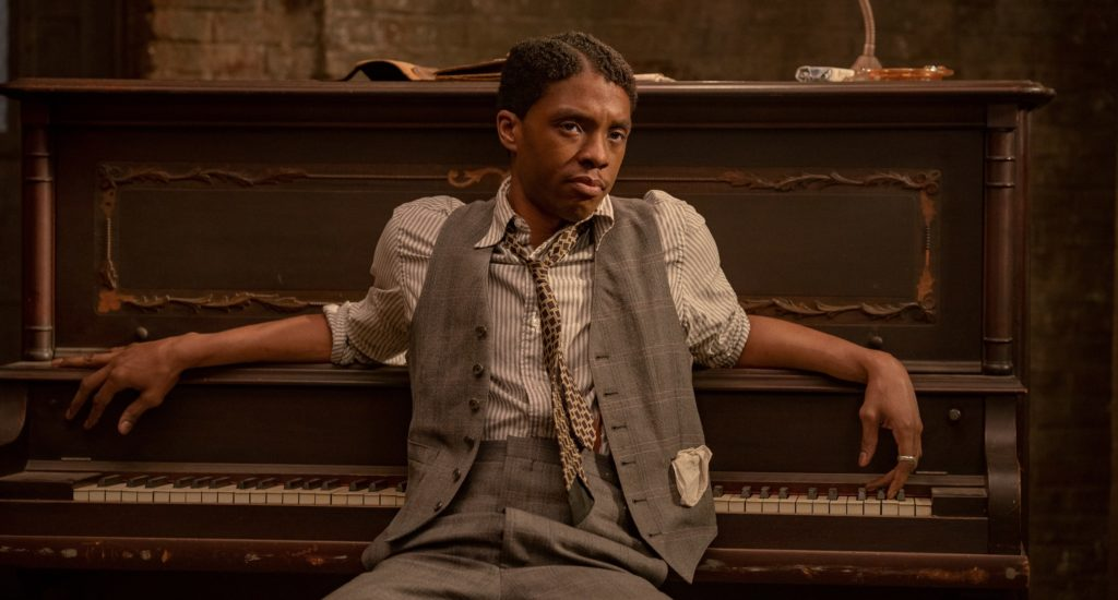Chadwick Boseman als Levee Green in Ma Rainey's Black Bottom Oscar-Nominationen