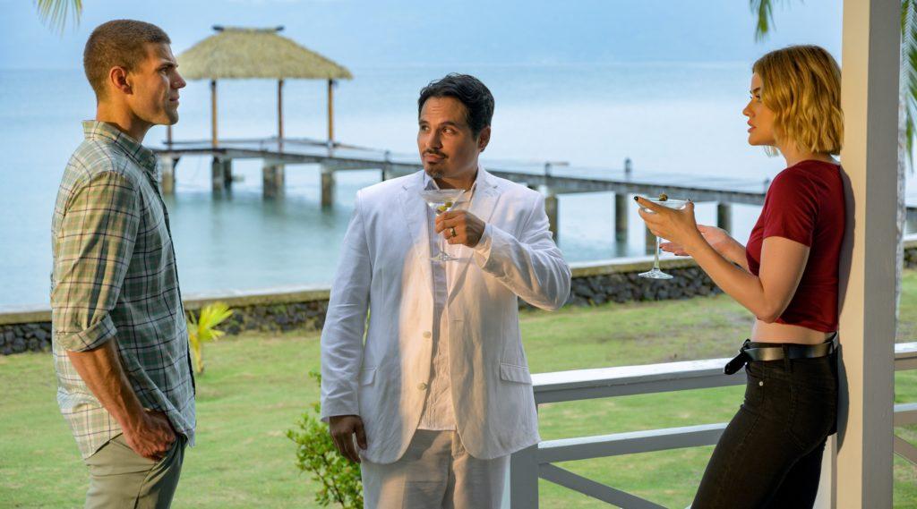 Michael Peña und Lucy Hale aus Fantasy Island
