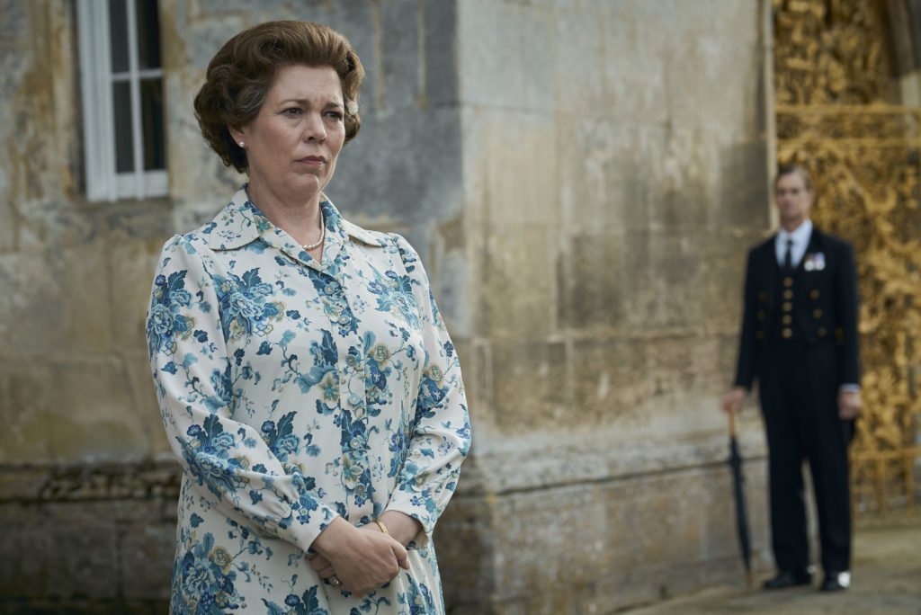 Olivia Colman als Queen Elizabeth II in The Crown