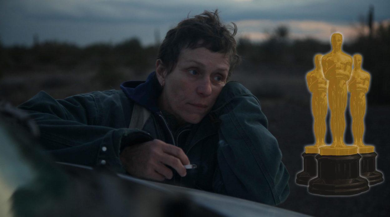 Oscars 2021: Frances McDormand in Nomadland