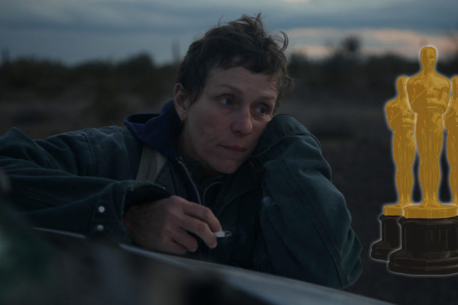 Oscars 2021: Frances McDormand in Nomadland