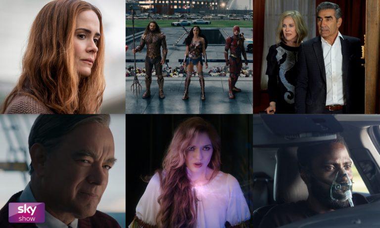 Gal Gadot Sarah Paulson und Tom Hanks Neu auf Sky Show im April 2021