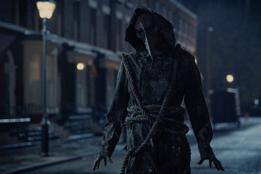 Pestmaske in Die Bande aus der Baker Street