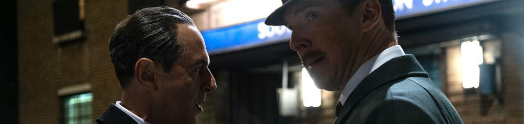 Benedict Cumberbatch und Merab Ninidze in Der Spion