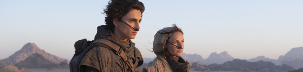 Timothée Chalamet und Rebecca Ferguson in Dune