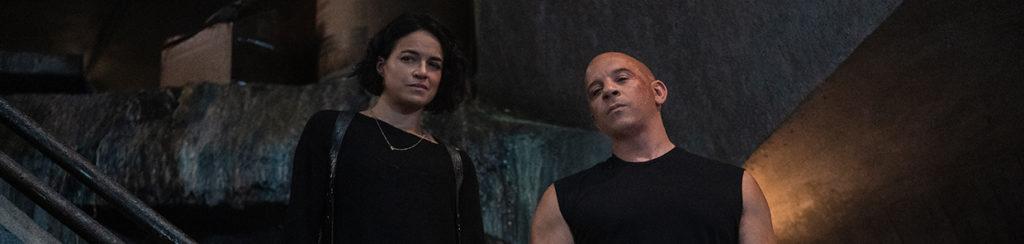 Vin Diesel und Michelle Rodriguez in Fast and Furious 9