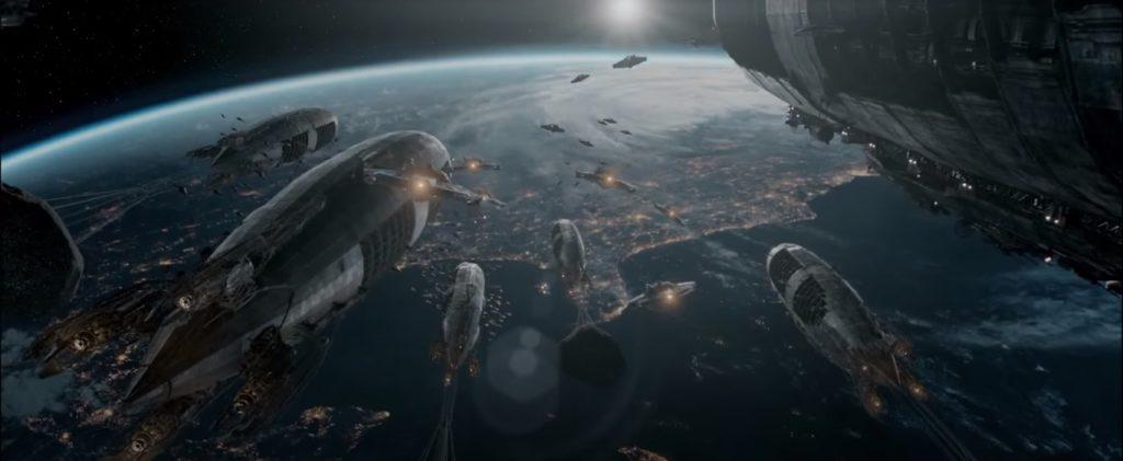 Raumschiffe in Iron Sky