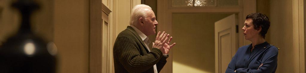 Anthony Hopkins und Olivia Colman in The Father - Ein Highlight fürs Kinoprogramm
