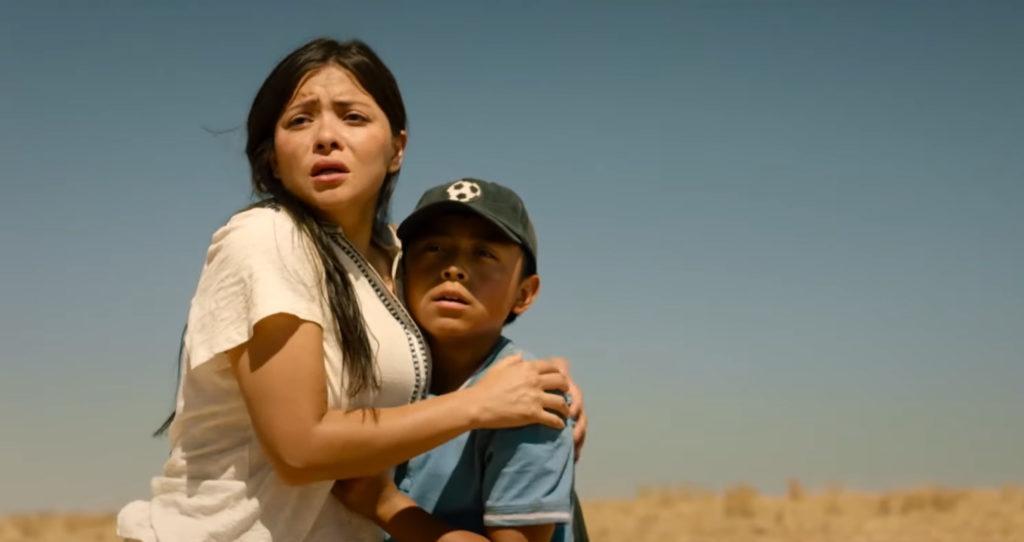 Teresa Ruiz und Jacob Perez aus The Marksman