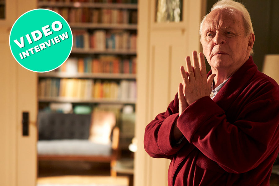 Anthony Hopkins aus The Father