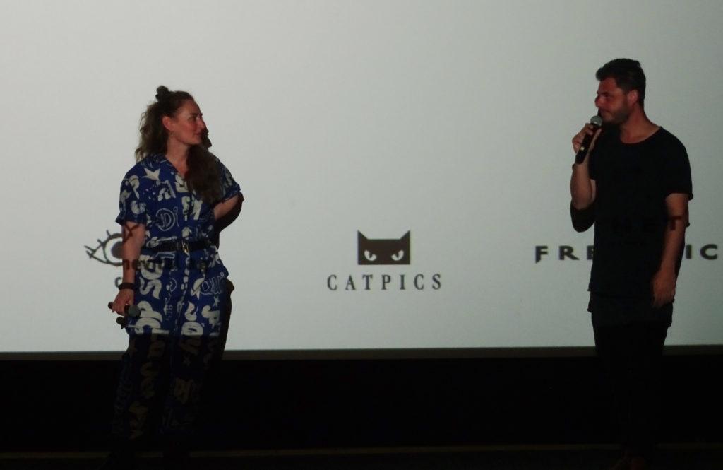 Rachel Braunschweig und Christian Johannes Koch an der Premiere in Biel