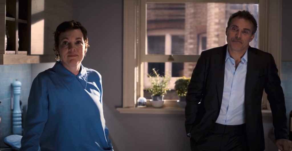 Olivia Colman und Rufus Sewell in The Father