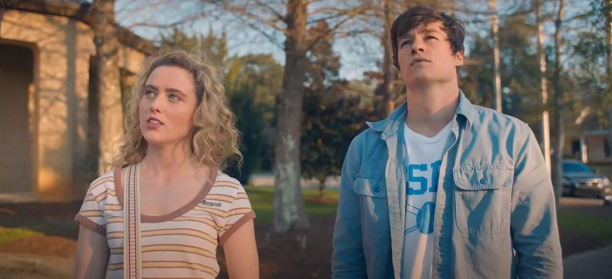 Kyle Allen und Kathryn Newton aus Sechzehn Stunden Ewigkeit