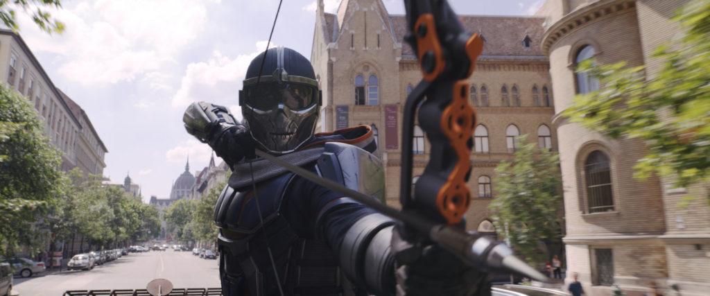 Actionszene aus Black Widow von Mavel
