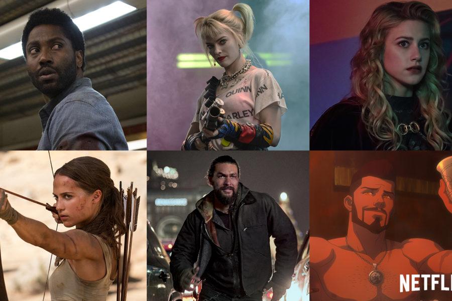 John David Washington Margot Robbie Alicia Vikander und Jason Momoa aus Neu auf Netflix im August 2021