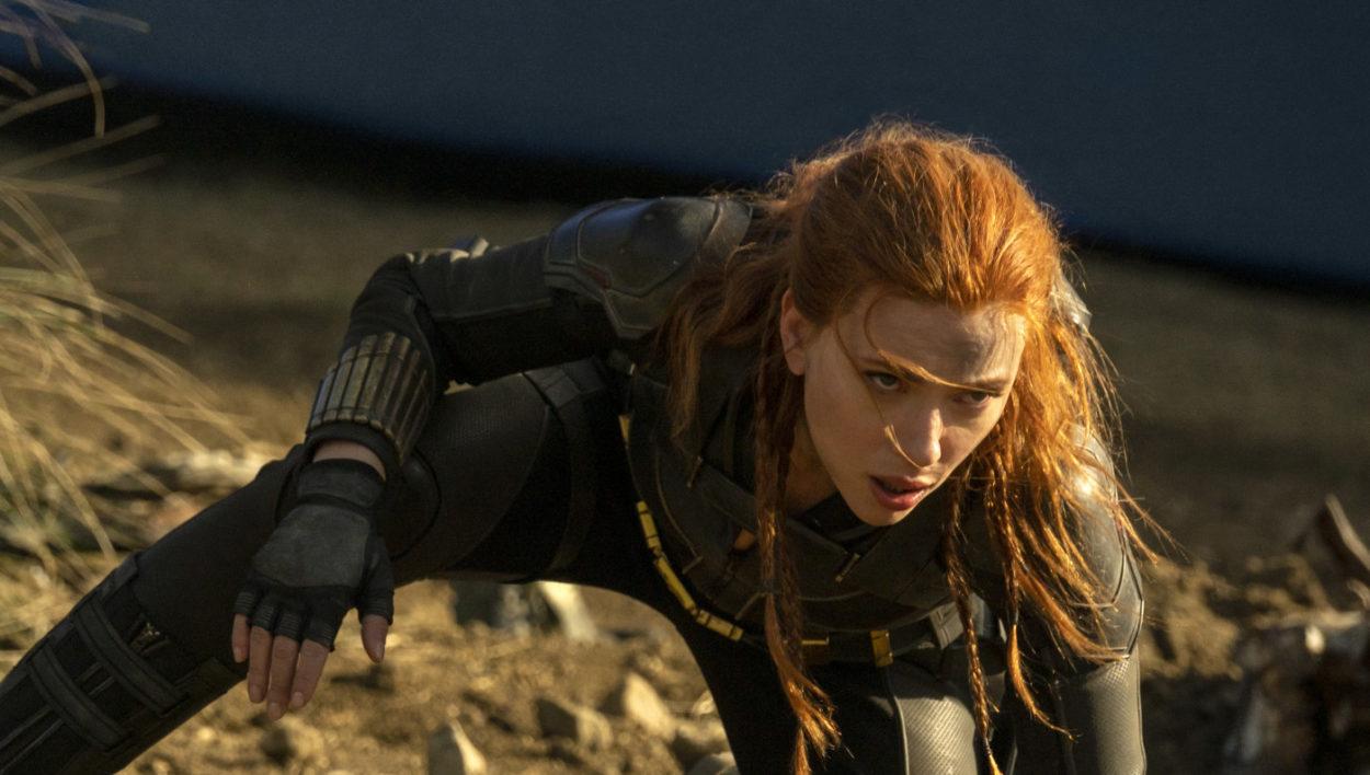 Scarlett Johansson aus Black Widow