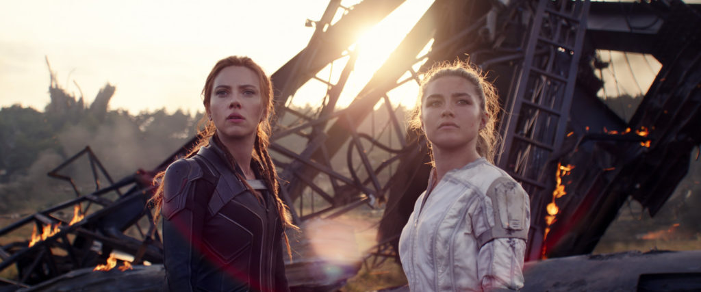 Scarlett Johansson und Florence Pugh aus Black Widow