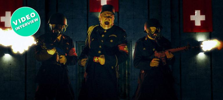 Max Rüdlinger als Kommandant Knorr in Mad Heidi